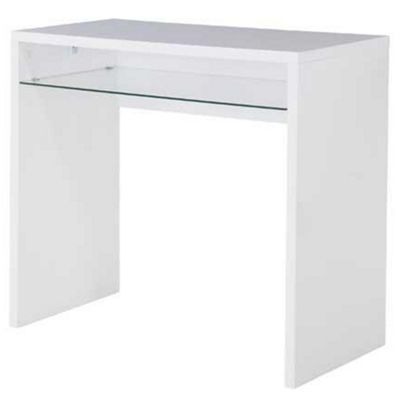 High Gloss Office Desk Base Dressing Table Computer Workstation