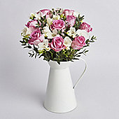 Mother's Day Rose & Freesia Jug