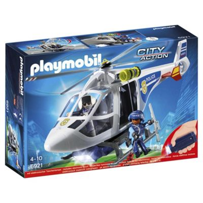 Playmobil 6921 City Action Police Helicopter