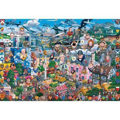 I love Great Britain - 500pc Puzzle