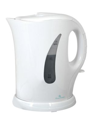 Home Essence 1 Litre Cordless Kettle in White