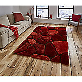 Noble House Cobblestone Rug - Red