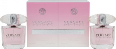 Versace Bright Crystal Gift Set 2 x 30ml EDT Spray For Women