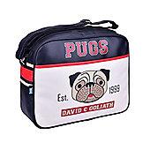 David & Goliath Pugs Messenger Bag