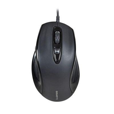 Gigabyte M6880X Mouse - Laser - Cable - Matte Black