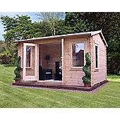 Mercia 4x3m Grizedale Log Cabin