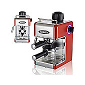 Sentik Professional Espresso Cappuccino Coffee Maker Machine (Red)