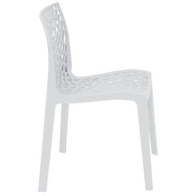 Brackenstyle Neptune Polypropylene Chair - Bianco White
