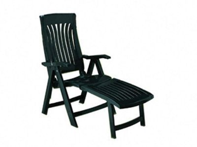 Hhsw Flora 60 Lounger Forest Green