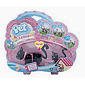 Pet Parade Family Cat & Kitty Pack - Angora