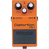 Boss DS-1 Distortion Effects Guitar Pedal