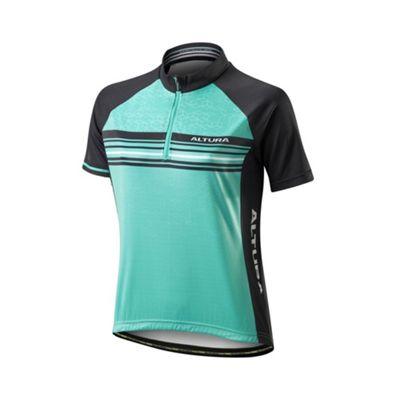Altura Peloton Team Short Sleeve Womens Jersey Aqua Size: 8