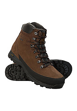 Mountain Warehouse Discovery Mens Extreme Waterproof IsoGrip Boots - Brown
