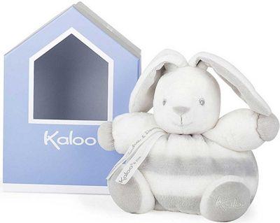 Kaloo Bebe Pastel Chubby Rabbit Grey Soft Toy