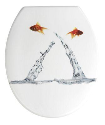Wenko Springing Fish Toilet Seat