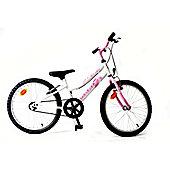 "Orbita BTT 20 H Single Speed 20"" Wheel Girls Mountain Bike (White)"