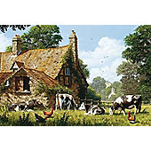Cows at a Farm - 1500pc Puzzle