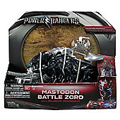 Power Rangers Movie Mastodon Battle Zord with Black Ranger Figure #42561