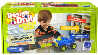 Learning Resources Design & Drill Power Play Monster Truck