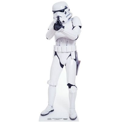 Stormtrooper Mini Cardboard Cutout - 96cm