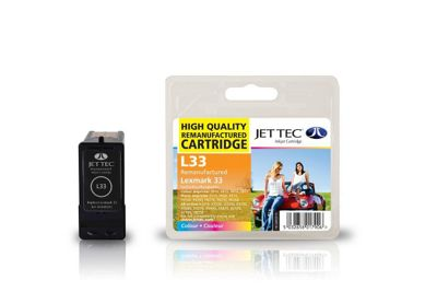 Lexmark 18C0033 Colour Remanufactured Ink Cartridge by JetTec - L33