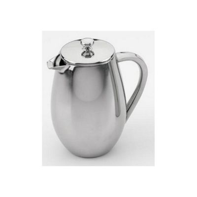 Double Wall Bellied Cafetiere Coffee Maker, 6 Cup
