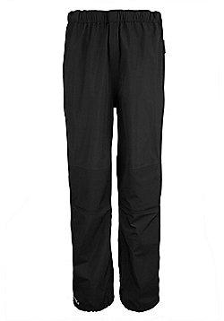 Mountain Warehouse Meridian Womens Short Length Waterproof Overtrousers - Black