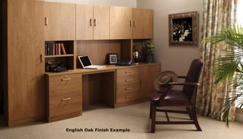 Enduro Two Drawer Wooden Filing Cabinet - Walnut