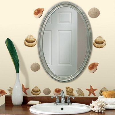 Bathroom Wall Stickers Sea Shells