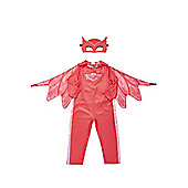 PJ Masks Owlette Fancy Dress Costume - Red