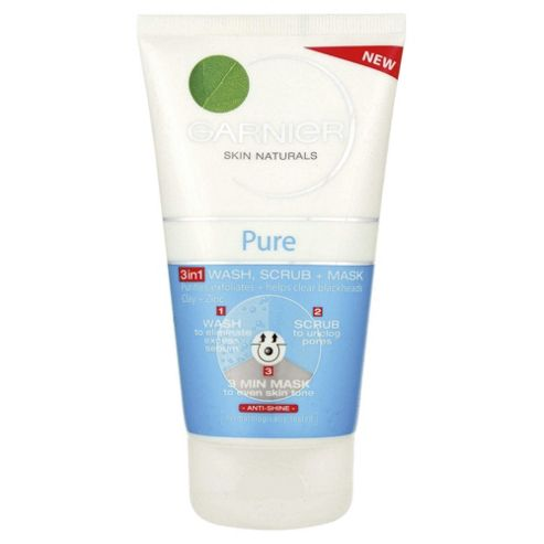 Garnier Pure 3in 1 Wash