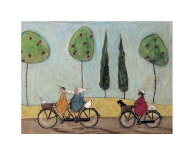 Sam Toft A Nice Day for It Print