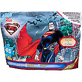 Superman In a Foil Bag 45 Piece Jigsaw Puzzle Game