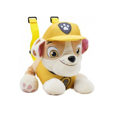 Character Paw Patrol 'Rubble' Plush Backpack
