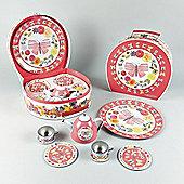 Butterfly Tea Party 9 piece Set