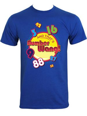 Look And That's Numberwang! Blue Men's T-shirt