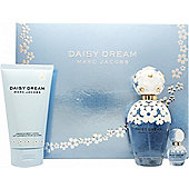 Marc Jacobs Daisy Dream Gift Set 100ml EDT + 150ml Body Lotion + 4ml EDT For Women