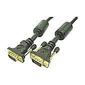 Nikkai VGA Male to Male PC Monitor Cable Lead 15 m