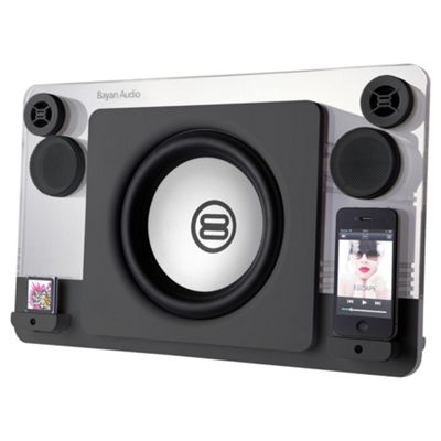 Bayan 7 Black Dual Dock Speaker 120W