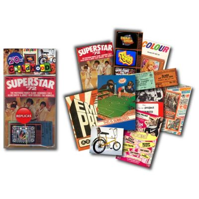 1970s Childhood - Replica Memorabilia Pack