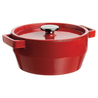Pyrex Red Casserole