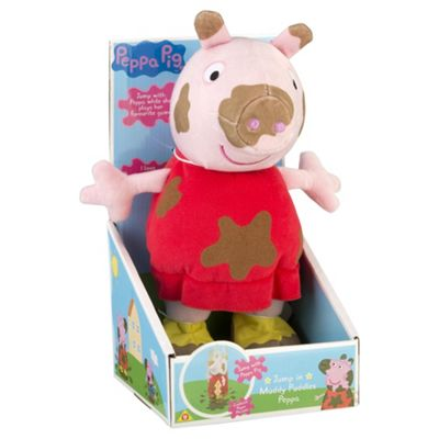 Peppa Pig Jumping In Muddy Puddles Peppa