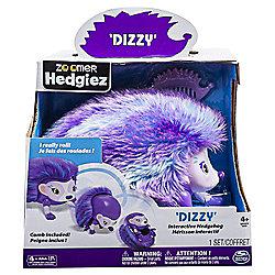 Zoomer Hedgiez Purple - Dizzy Soft Toys