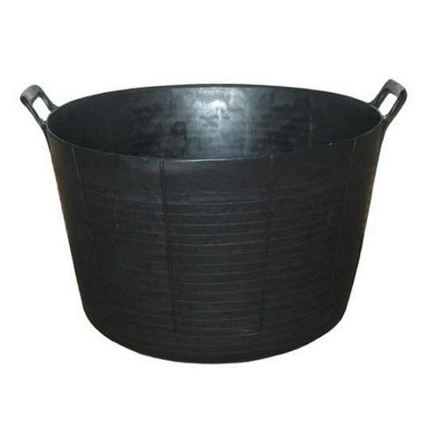 The extra large flexi black trug