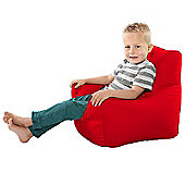 Toddler Armchair Beanbag - Red
