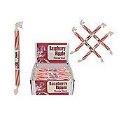20 Small Flavoured Rock Sticks - Raspberry Ripple Flavour