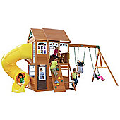 Selwood Richmond Lodge Climbing Frame With Slide And Swings