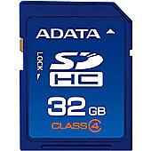 ADATA 32GB MicroSDHC memory card 25g Black