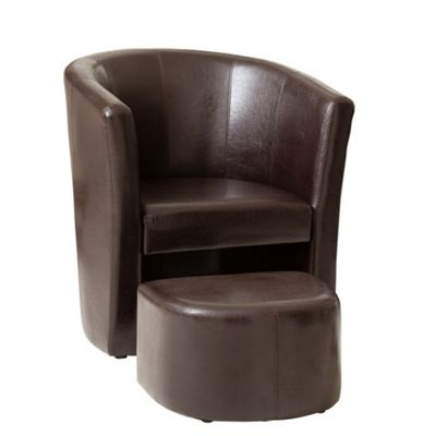Sofa Collection Vallodolid Tub Chair - Brown