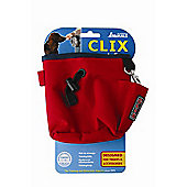 Clix Dog Training Treat Bag - Red
